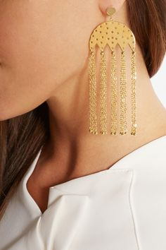 Arme De L'Amour|Gold-plated earrings |