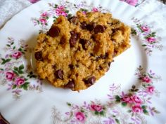 GIANT, THICK CHOCOLATE CHIP COOKIES FOR TWO - Made in a jiffy in the microwave.