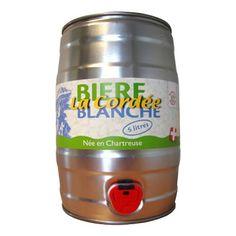 Fut bière CORDEE BLANCHE - Bière : achetez Fut bière CORDEE BLANCHE - Bière sur Pompe-a-biere.com