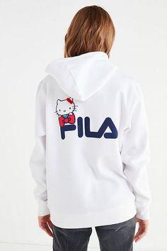 ff21ec063df7 Slide View: 2: FILA X Sanrio For UO Hoodie Sweatshirt Hoodies, Sweatshirts,