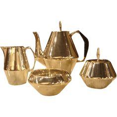 Gio Ponti Diamond Tea Set