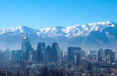 Santiago, Chile most organized city in latin america.  Very structured