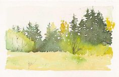 Watercolor Postcards: September 2010