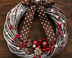 Weihnachten Kranz Urlaub Kränze für Tür Winter von BotanikaStudio