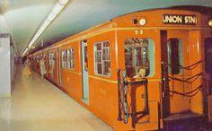 A Toronto photo extravaganza Joy Theater, Underground Tube, Canadian Things, Yonge Street, Toronto Photos, York Hotels, Canadian History, Toronto Canada, Public Transport