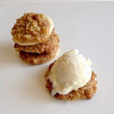 Food Pusher: Dutch Apple Pie Cookies (Three-Bite Dutch Apple Pies)