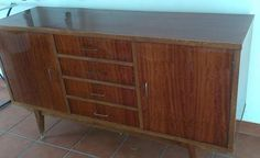 Aparador años 60 (Parte II) | Bricolaje Credenza, Cabinet, Storage, Furniture, Home Decor, Anos 60, Sideboard, Furniture Restoration, Diy