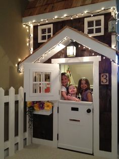 Kids' Playhouse (under stairs) | Do It Yourself Home Projects from Ana White