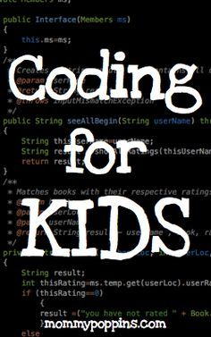 """Coding for Kids: Free Websites That Teach Kids Programming - """"Learning how to build simple websites and games helps kids hone their design, logic and problem-solving skills, and allows them to express their ideas and creativity in lots of different ways. Fun Learning, Learning Activities, Teaching Kids, Activities For Kids, Teaching Biology, Stem Activities, Computer Coding, Computer Science, Computer Jobs"""