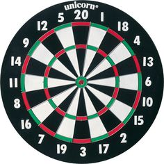 Challenge yourself to a game of hand-eye coordination with the Franklin Sports Pro Wire Bristle Dartboard. Designed for enhanced play, this dartboard come with printed number rings along the outside and round metal wire for tournament play. Hall Of Game, Best Darts, Black And White Challenge, Play Darts, Curtain Rod Hardware, Only Play, Dart Board, Diana