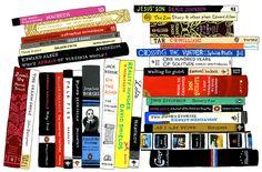 Ideal Bookshelf: James Franco, by Jane Mount | 20x200
