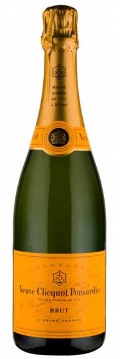 Zeer populair en terecht: Veuve Clicquot Veuve Cliquot Ponsardin Yellow Label Brut champagne