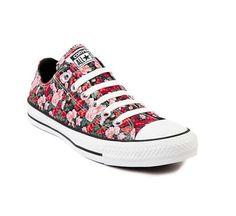 Floral converse! Cute. (journeys)