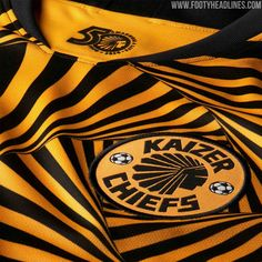 Mesmerizing Nike Kaizer Chiefs Home & Away Kits Leaked - Official Pictures - Footy Headlines Chiefs Wallpaper, Kaizer Chiefs, Celebrity Biographies, Soccer Stars, Nike Vapor, Men's Football, Team Shirts, Yellow Stripes, Home And Away
