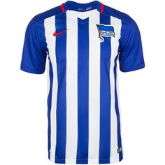 Hertha BSC Berlin Trikot Home Stadium 2015/2016 Herren    Das Heimtrikot von Hertha BSC Berlin in den traditionellen Farben bezeugt definitiv die bedingungslose Treue und Leidenschaft zu deinem Verein aus der Hauptstadt.    Das innovative Dri-FIT-Material in Kombination mit den strategischen Ventilationszonen garantiert dir ein stets trockenes, leichtes Tragegefühl, ganz egal ob auf dem Platz o...