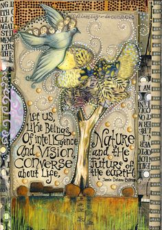 Art Journal - Teesha Moore - *sigh* [What else can I say?]