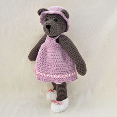 """10"""" Bear with Outfits"""