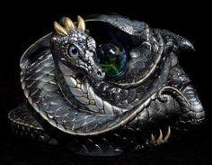 Coiled Dragon - Silver