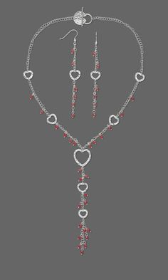 Jewelry Design - Double-Strand Necklace and Earring Set with Swarovski Crystal Beads and Sterling Silver Hammered Links Swarovski Crystal Beads, Swarovski Jewelry, Beaded Jewelry, Handmade Jewelry, Diy Jewelry Inspiration, Jewelry Ideas, Jewelry Design, Design Inspiration, Old Jewelry