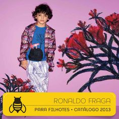 Projeto Gráfico e Direção de Arte #graficdesign #fashionbook #kids #ronaldofragaparafilhotes #design #filhoModelo