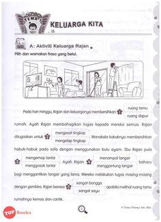 Image result for malay karangan bergambar darjan satu Sequencing Pictures, Exam Papers, Grammar, Worksheets, Exercises, Study, Education, Image, Exercise Routines