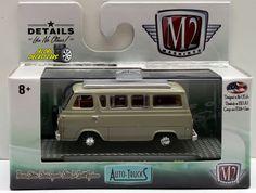 1:64 M2 MACHINES AUTO-TRUCKS RELEASE 38 - 1965 FORD ECONOLINE CAMPER VAN #M2Machines #Ford