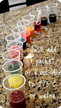 How To Make Your Own Dye Using ONLY Kool-Aid & Water.