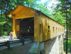 Warner Hollow Covered Bridge in Ashtabula County OH