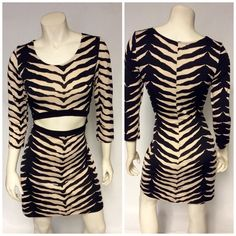 """""""Plus size party dress"""" NWT animal print dress, with opening in front very sexy , and it has plenty of stretch. Dresses Mini"""