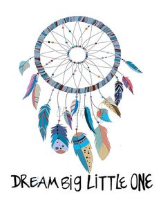 Dream Catcher Art, Dream Catcher Print, DreamCatcher Wall Art, Nursery Decor, Baby Room Decor, Nursery Art, Nursery Wall Art, Nursery Prints