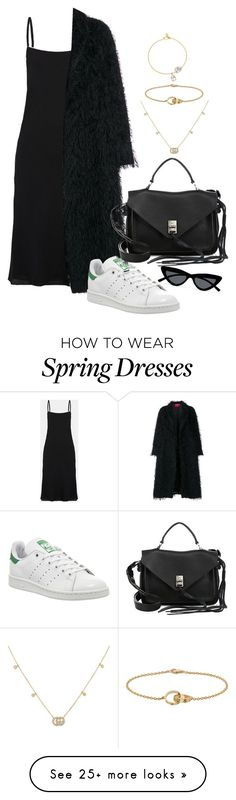 """Spring is Coming!"" by moxfordf on Polyvore featuring Theory, F.R.S For Restless Sleepers, Rebecca Minkoff, adidas, Le Specs, Gucci and Pippa Small"