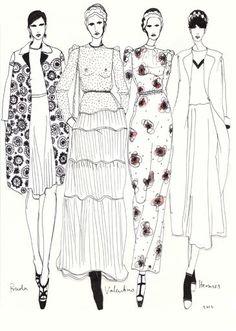 Rosie McGuinness Fashion Illustration