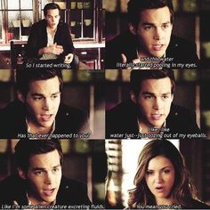 Kai literally reminds me of Damon Season 1... it makes my life!