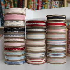 cheapest 3m £2.40  East Of India Ribbons Stitches & Stripes