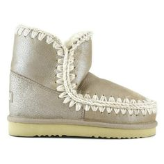 Mou eskimo 18 Stone Metallic - MOU #mou #fashion #newshoes #women #streetstyle