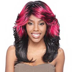 THE AMAZING Vanessa Super Collection Synthetic Hair Wig Super Stena