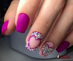22 Easy Cute Valentines Day Nail Art Designs, Ideas, Trends Stickers