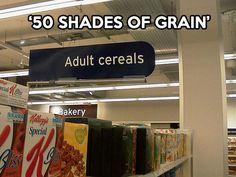Adult cereals…