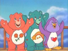 Friend Bear, Wish Bear, and Cozy Heart Penguin from Care Bears Movie 2 Cute Cartoon Pictures, Cartoon Images, Care Bears Movie, Proud Mom Quotes, Best Cousin Quotes, Little Brother Quotes, Daughter Quotes, Baby Animal Drawings, Care Bear Party