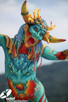 World Bodypainting Festival | 10 Cool Looks from the World Bodypainting Festival 2013 [PHOTOS ...