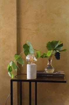Een combinatie van kalkverf en metallicverf aangebracht met stucspaan geeft een authentiek Italiaans Palazzo-effect. Naast een wandafwerking wordt een trendy lampje (exclusief lichtbron) bewerkt met kalkverf. Leren hoe dit te maken? Volg de Carte Colori workshop