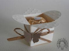 Ferrero Rocher Holer; Scatolina porta Ferrero Rocher
