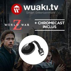 Bon plan : le Chromecast 2 est en promo à 27,99 euros avec le film World War Z offert - http://www.frandroid.com/marques/google/324040_bon-plan-le-chromecast-2-est-en-promo-a-2799-euros-avec-le-film-world-war-z-offert  #Bonsplans, #Google