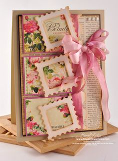 Pink Floral Card...
