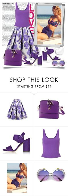 """""""Bez naslova #40"""" by miki-383 ❤ liked on Polyvore featuring Valentino, Miss Selfridge, Out From Under and ZeroUV"""