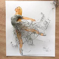 Drawing with Everything Food Art and More. By Edgar Artis. Drawing with Everything Food Art and More. By Edgar Artis. Fashion Design Drawings, Fashion Sketches, Fashion Illustrations, Drawing Fashion, Art Illustrations, Moda 3d, Vitrine Design, Arte Fashion, Dress Fashion