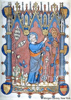 Psalter-Hours, MS M.729 fol. 272v - Images from Medieval and Renaissance Manuscripts - The Morgan Library & Museum