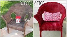 Votre chaise en osier est en mauvais état? Suivez les instructions suivantes pour la nettoyer et la peindre. Les matériels nécessaires Une éponge Une paire de gants en latex Un aspirateur Une bross…