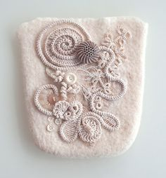 freeform crochet by Cécile Meraglia