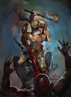 Portal dos Mitos: Berserker